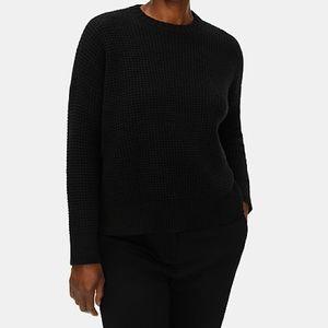 Eileen Fisher Cashmere Black Sweater